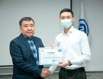 Вручение сертификатов ОРТ по итогам проведенного бесплатного обучения