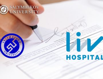 Salymbekov University and Liv Hospital