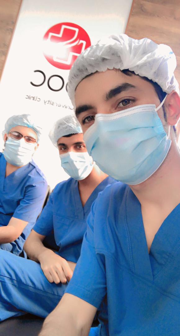 Прохождение практики студентами в Университетской клинике DOC University Clinic