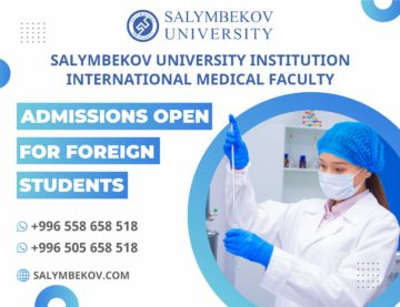 Admissions open for Salymbekov University Institution